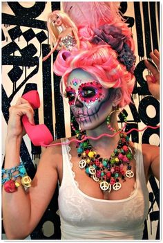 Maquillage day of the dead