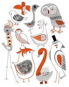 sarah walsh kooky_birds