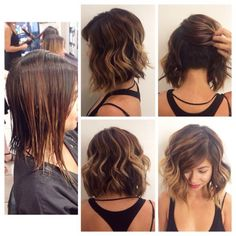 Longer undercut at the back - very possible.