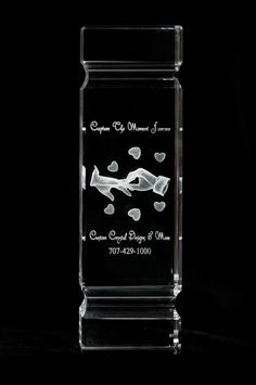 This beautiful crystal piece will be the talk when friends and family come to visit you.