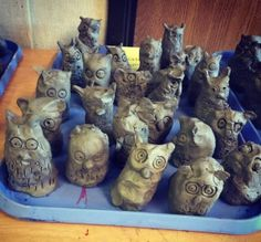 Clay Owls, 1st grade
