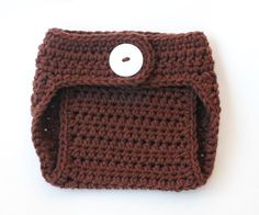 Crochet diaper cover