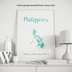 Philippines map print gold foil philippines art map print travel philippines map philippines art philippines by grapewanderlust publicscrutiny Images