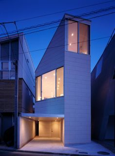 Matsubara House by architect HiroyukiIto, Tokyo, Japan.