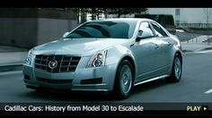 Cadillac Cars: History from Model 30 to Escalade. ‪#‎FindlayCadillac‬ http://watchmojo.com/video/id/9862/