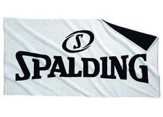 Toalla Spalding de baño, 100% algodón. Un regalo práctico de gran calidad y durabilidad. Medidas 70 x 140 cm www.basketspirit.com/Spalding-complementos