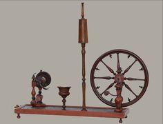 Rouet de salon  à filer la soie - XVIIIème Siècle, Antiquités Bunel, Proantic