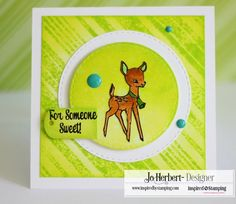 Inspired by Stamping, Jo Herbert, Background Basics Lines stamp set, Winter Friends Stamp Set, Mason Jars Add On II stamp set, thinking of you card, birthday card, card set, background tutorial