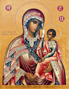 Смоленская икона Божией Матери aka Smolensk Icon of the Mother of God