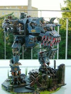 #40k Wold Titan #Scratchbuild