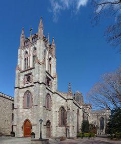 Fordham University ~ University Church in the Bronx, New York City…where Marissa and Joe got married! The Bronx New York, Bronx Nyc, Fordham University, University University, City Vibe, My Kind Of Town, Cathedral Church, I Love Ny, New Hampshire