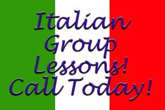 www.westchesteritalian.com Study with your friends or family! Special group rates!!!