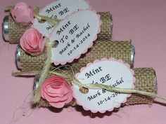 Mint To Be Wedding favor  Burlap wedding by BulandsBathBoutique, $75.20