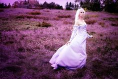 Lady Amalthea. Animated Movie: Last Unicorn. . Cosplayer Dani Dosser. 'aka' Elle, From. Canada.  Photo: Ailles Noir.