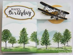 Stampin Up, #thecraftythinker, Double Z Fold, Masculine card