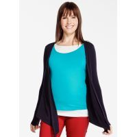 Maternity Top Navy - Reduced to $59.95 for a limited time*. Available at: http://www.mamadoo.com.au/maternity/maternity-clothes/breastfeeding-tops/ #breastfeeding #tops #womens #fashion #maternity #mamadoo #fashionablemum