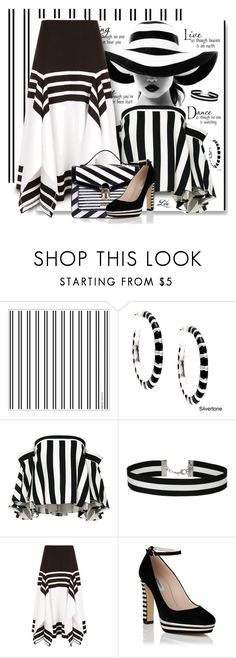 """""""Stripes never go out of fashion"""" by breathing-style ❤ liked on Polyvore featuring Alexa Starr, Milly, WALL, Miss Selfridge, Rosetta Getty and LYDC"""