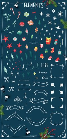 168 Best ✒ Christmas Design Resource images in 2018