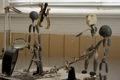 ★ How to Make Puppets for Stop-Motion Animation | Jointed Limbs and Clay Art Doll Figures â˜