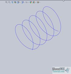 Solidworks Helix and Spiral Tutorial - Solidworks Tutorial 38
