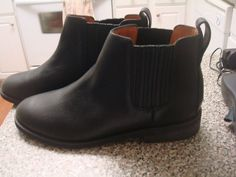 NEW  Madewell J. Crew the chelsea boot  item e2334 11 Black $126 #Madewell #FashionAnkle
