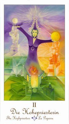The High Priestess - Petrak Tarot Petra, Zodiac Elements, Tarot Card Spreads, Online Tarot, Tarot Major Arcana, Angel Cards, Oracle Cards, Tarot Decks, Pathways