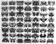 Rorschach test. Pretty Awesome...
