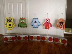 Yo Gabba Gabba Centerpieces by FUNmemorie on Etsy, $60.00