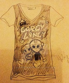 My T-Shirt GrojBand by JaneDiamond31