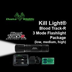 Blood Tracking Light Alluring Makers Of The Original Kill Light™  Elusive Wildlife Technologies Inspiration