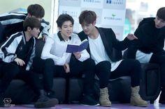 Seventeen. I like Mingyu's boots here :o