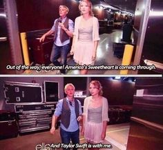 Ellen and Taylor Swift