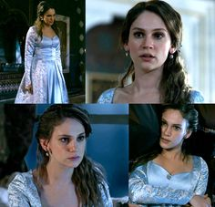 Princess Farya's blue & white dress, 2x05 - Magnificent Wardrobe
