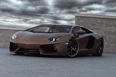 Lamborghini Aventador (219 mph)... great color