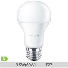 Bec LED Philips forma clasica 9.5W, A60, E27, 230V, 15000 ore, lumina calda, 871869649754800 http://www.etbm.ro/becuri-led