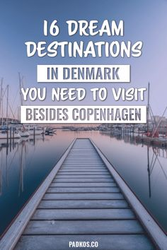 16 Dream Destinations in Denmark you need to visit, besides Copenhagen. Denmark has so many historic and beautiful places to go to. Copenhagen may be the main hub, but the rest of the country should be explored just as equally. From amazing sloping sand d Visit Denmark, Denmark Travel, Denmark Europe, Copenhagen Travel, Copenhagen Denmark, Europe Travel Tips, Travel Destinations, Travel Guide, Viajes