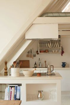 Located in the heart of Copenhagen at the top of a historic townhouse, Caroline Feiffer's apartment is the ultimate city pad—and yet feels like it could be in the middle of the country at the same time. It spans just 860 square feet but feels open, airy, and so peaceful. That's due, in part, to …
