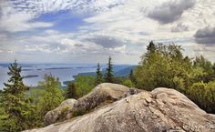 Ukko-Koli hill in North Karelia, Finland, by Pajunen on DeviantArt
