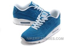 http://www.nikeriftshoes.com/nike-air-max-90-vt-womens-blue-white-free-shipping-gw7b8.html NIKE AIR MAX 90 VT WOMENS BLUE WHITE FREE SHIPPING GW7B8 Only $74.00 , Free Shipping!