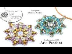 Aria Pendant (Tutorial) - YouTube