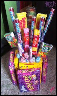 candy bouquet Valentine's Day