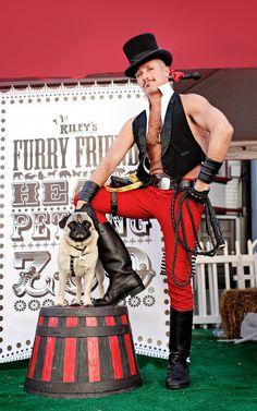Star of the circus  @Sarah Chintomby White-Thomas See frank belongs at a carnival!