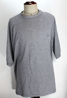 The North Face Athletic T Shirt Tee Mens size 2XL Gray made in USA Tekware EUC #TheNorthFace #ShirtsTops