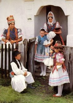 North-Hungarian village Rimóc - folk dresses of the region the so-called Palóc. Folk Costume, Costumes, Guys In Skirts, Family Roots, Folk Dance, My Heritage, Eastern Europe, Traditional Outfits, Fairy Tales