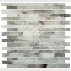 Sheet size: x Tile Size: Random Bricks Tiles per sheet: 72 Tile thickness: Grout Joints: Sheet Mount: Mesh Backed Sold by the sheet Travertine Backsplash, Blue Backsplash, Herringbone Backsplash, Backsplash Ideas, Kitchen Backsplash, Rustic Backsplash, Beadboard Backsplash, Mother Of Pearl Backsplash, Glass Brick