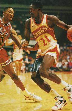 Dominique Wilkens, Atlanta Hawks