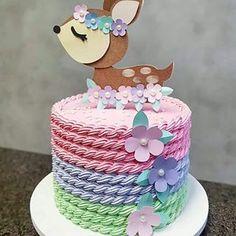 Birthday cake kids girls animals New ideas Birthday cake kids girls animals New ideas Beautiful Birthday Cakes, Beautiful Cakes, Birthday Cake Decorating, Birthday Cake Girls, Cake Decorating Techniques, Drip Cakes, Buttercream Cake, Sweet Cakes, Cake Designs