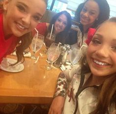Gianna, Nia, Maddie and Kendall