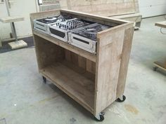 DJ-booth op wielen