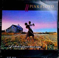 Coletânea do Pink Floyd Álbum de 1981, A Collection Great Dance Songs é uma compilação com algumas melhores músicas dessa sensacional banda de Rock Progressivo. Vale a pena ouvir na ponta da agulha verdadeiros hinos do Rock como One of These Days, Wish You Were Here, Money e outras. Lp The Best of Pink Floyd Edição Brasileira  Ano: 1981  Gravadora CBS